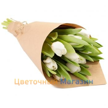 "Bouquet ""9 white tulips""Bouquet ""9 white tulips"""