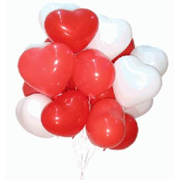 21 a helium balloon Heart