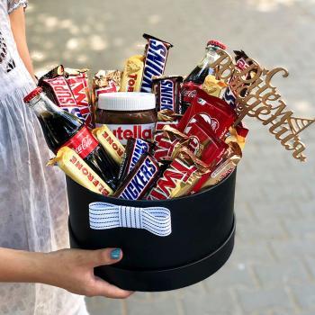 """Коробка со сладостями """"Шоколадный бум""""Коробка со сладостями """"Шоколадный бум"""""""